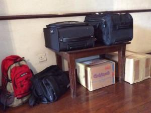 マータレーからキャンディまで運んだ荷物