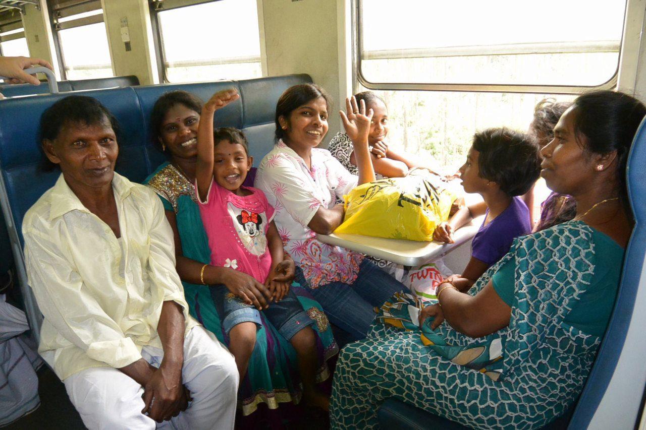 列車とバスとスリーウィーラーで行くスリランカの旅