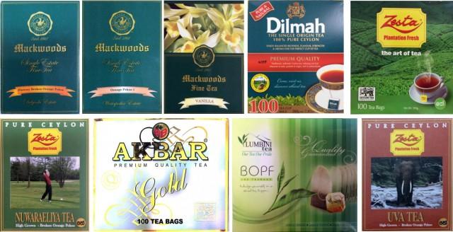 スリランカ紅茶局で買った紅茶