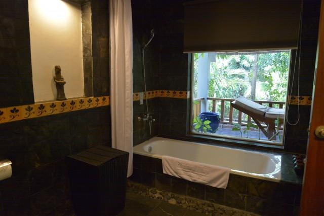 ホテルピルグリミッジビレッジのバスルーム