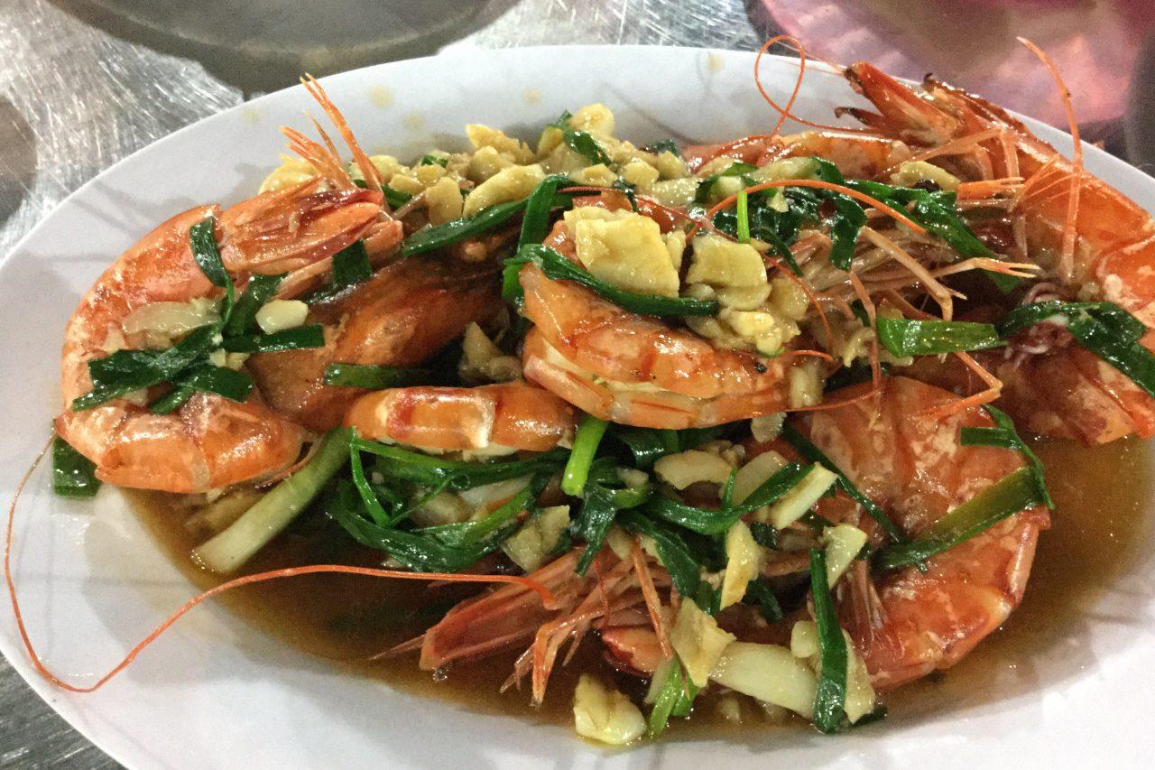 ダナンのシーフードレストラン(Be Anh)1