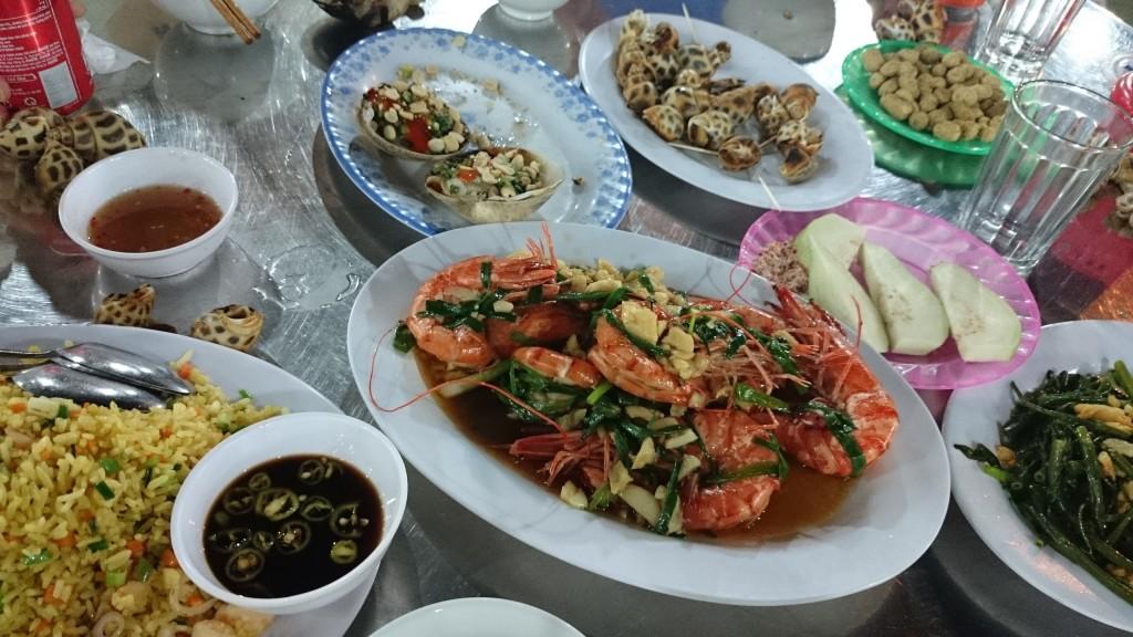 ダナンのシーフードレストラン(Be Anh)-2