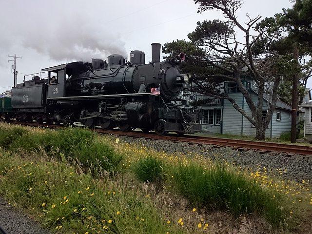 ロッカウェイで見かけた蒸気機関車-10.30.51