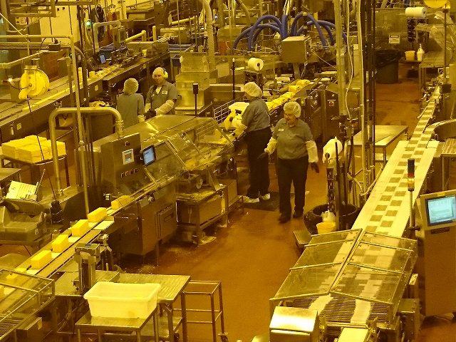 ティラムックのチーズ工場内部_2
