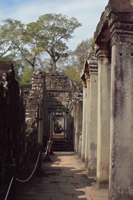 バイヨンの回廊