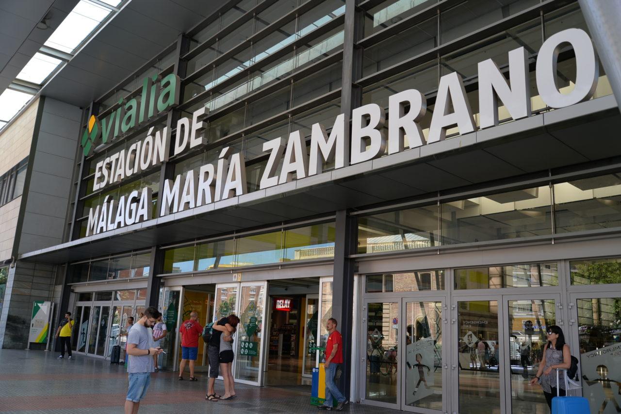 スペイン国鉄マラガ駅