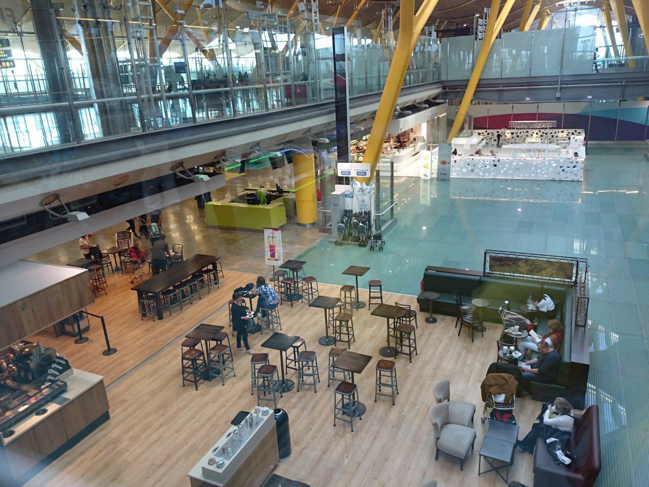 マドリッド、バラハス国際空港