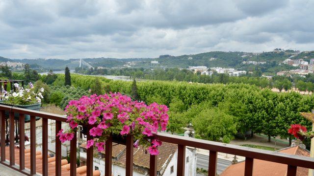 Casas da Alegriaのバルコニーからの眺望