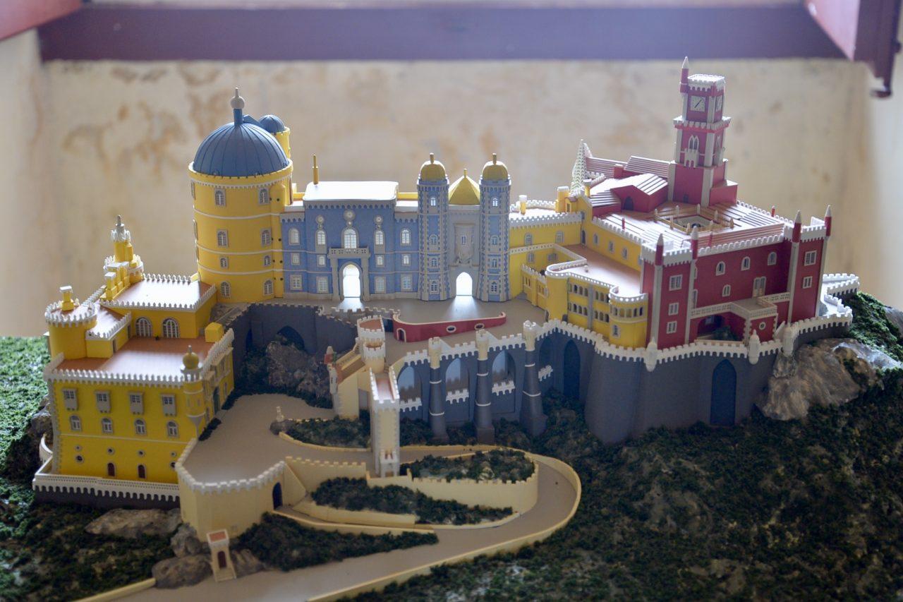 ペーナ宮殿の模型