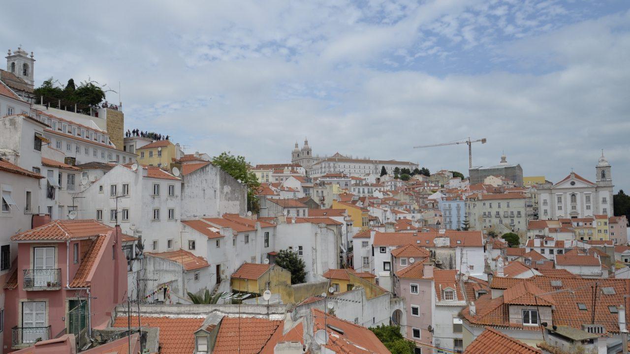 リスボンのAlfama Suite Vieからの眺め-2