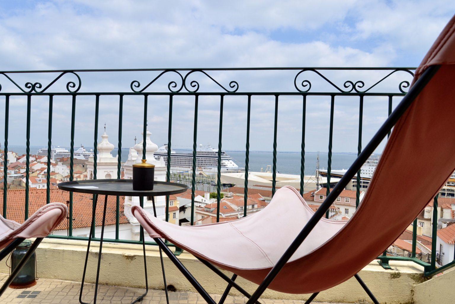 リスボンのAlfama Suite Vieからの眺め_1